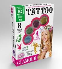 Набор для создания временных татуировок Glamour, 8 видов тату