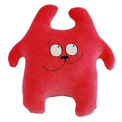 Игрушка антистресс «Заяц Хрустик мечтательный» красный