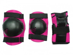 Защита роллера розовая