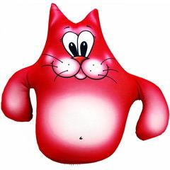 Игрушка антистресс «Кот Валера» красный