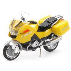 Модель Мотоцикл Туризм свет+звук, подвижные элементы 12,5 см арт. 586856-R