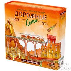 """Настольная игра """"Дорожные сети: ярко-красная версия"""""""