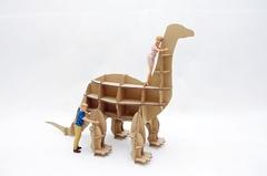 Игрушка из картона Домашний динозавр Апатозавр