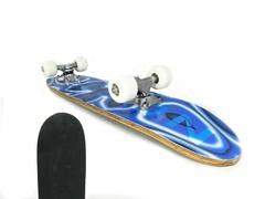 Скейтборд детский синий SHC-07