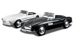 МОДЕЛЬ автомобиля STREET CLASSIC BMW 507 СТРИТ КЛАССИК - БМВ 507 (1957) 1:32