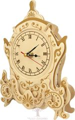 Сборная деревянная модель АЖУРНЫЕ ЧАСЫ F006 43 детали