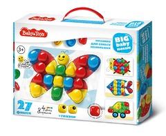 Мозаика для самых маленьких 27 элементов Baby Toys