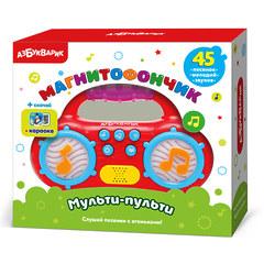 Музыкальная игрушка Магнитофончик Мульти-пульти (красный)