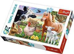 Пазл Трефл : Веселая ферма, 60 элементов