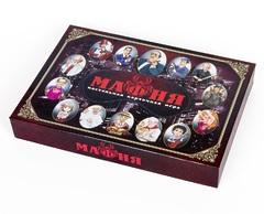 Настольная игра Карточная игра «Мафия» с масками в коробке