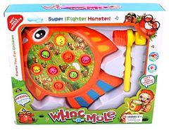 Детская развивающая игрушка (Игровое поле в форме рыбки, молоточек.)