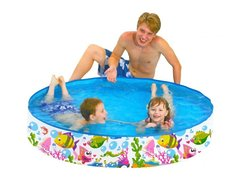 Каркасный детский бассейн Jilong Sea World Rigid Pool 150x25 см