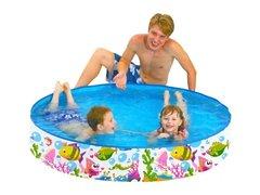 Каркасный детский бассейн Jilong Sea World Rigid Pool 120х25 см