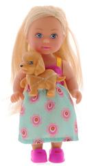 Кукла Эви со зверушкой, 12 см Evi LOVE Pet Friends