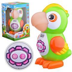 Умный попугай развивающая интерактивная игрушка