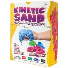Кинетический песок 3 кг цветной Kinetic sand от 3 лет