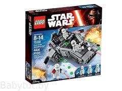 75100 Снежный спидер Первого ордена Lego Star Wars