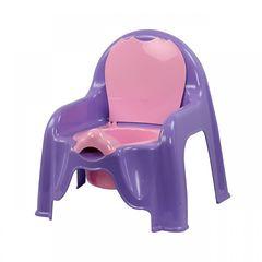 Горшок-стульчик детский, фиолетовый, арт. М1327
