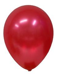 №027  Металлик. Красный. С гелием. 30 см.