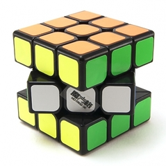 QiYi MoFangGe 3x3x3 Thunderclap Черный (Кубик Рубика Чии Мофанг 3х3х3 Тандерклэп)