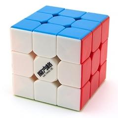 QiYi MoFangGe 3x3x3 Thunderclap Цветной пластик (Кубик Рубика Чии Мофанг 3х3х3 Тандерклэп)