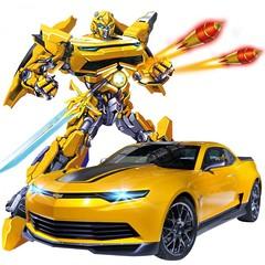 Трансформер Bumblebee 1:14 Chevrolet Camaro на радиоуправлении