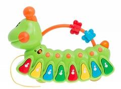 """Музыкальная развивающая игрушка """"Веселая гусеница"""""""