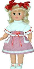 Кукла Настенька 11  озвучена мягконабивная 55 см, арт. 14-С-13