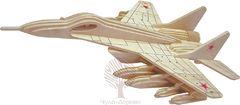 Сборная деревянная модель МНОГОЦЕЛЕВОЙ ИСТРЕБИТЕЛЬ P156 65 деталей