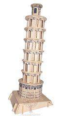 Сборная деревянная модель ПИЗАНСКАЯ БАШНЯ P172 189 деталей