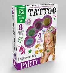 Набор для создания временных татуировок Party, 8 видов тату
