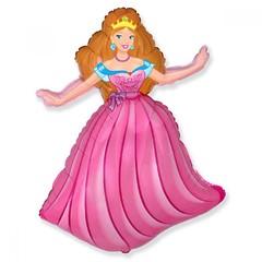 №082 Фигура с гелием. Принцесса. 98 см*68 см.
