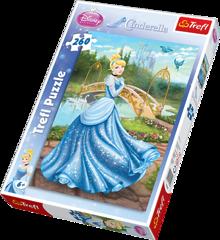 Пазл Принцессы Волшебное платье (260 элементов)
