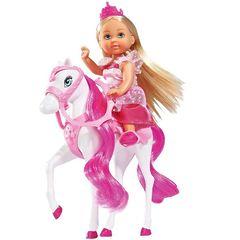 Принцесса Эви с лошадкой, 12 см
