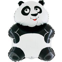 №245 Фигура с гелием. Панда. 56 см*83 см.
