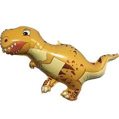 №141 Фигура с гелием. Динозавр Тираннозавр. 100 см*60 см.