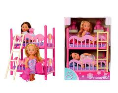 """Кукла """"Подружки Эви"""" и двухэтажная кровать, 12 см Evi LOVE 2 Floor Bed"""