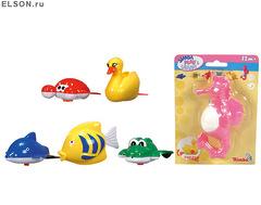 Игрушки для купания Плавающие зверята