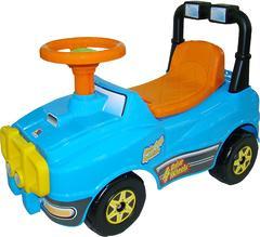Автомобиль Джип-каталка (голубой)
