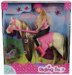 Кукла Штеффи на лошади (29 см.,24 см.)