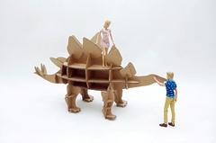 Игрушка из картона Домашний динозавр Стегозавр
