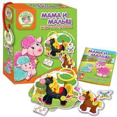 Развивающая игра с липучками «Мама и Малыш» Влади Тойс